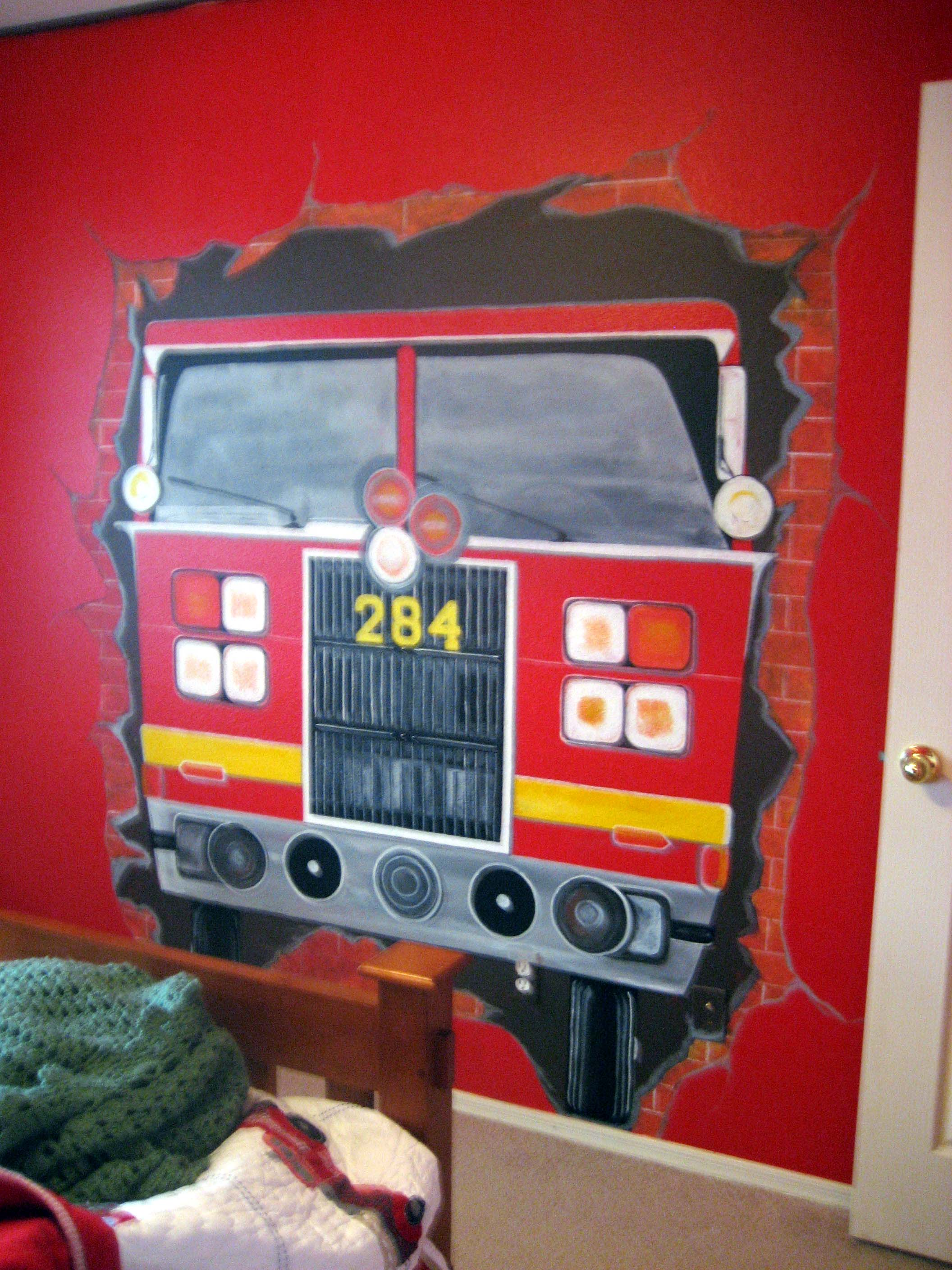 Children's Room: Fire Truck